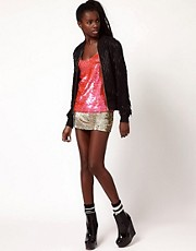 Ashish Disco Sequinned Skirt