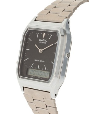 Image 3 ofCasio AQ-230A-1DMQYES Bracelet Timer Watch