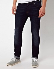 ASOS - Jeans skinny lavaggio scuro