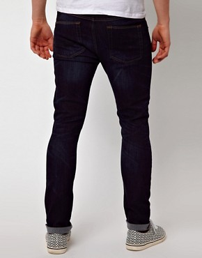 Image 2 ofASOS Skinny Dark Wash Jeans