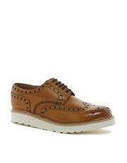 Grenson Archie Vibram Sole Brogue Shoes