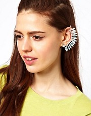 ASOS Petal Earcuff with Swarovski Stones