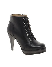 ASOS ANTHEM Leather Ankle Boots