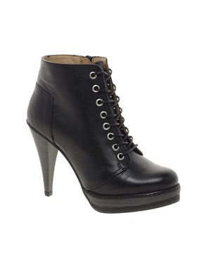 Image 1 of ASOS ANTHEM Leather Ankle Boots