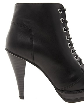 Image 2 of ASOS ANTHEM Leather Ankle Boots