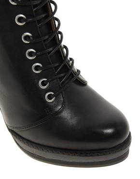 Image 3 of ASOS ANTHEM Leather Ankle Boots