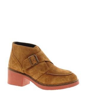 Image 1 ofSwear Chiara 7 Tan Buckle Ankle Boots