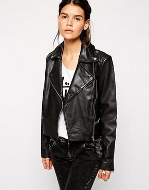 Barney's Originals Leather Jacket
