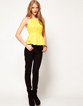 Image 4 ofASOS Pinafore Backless Top