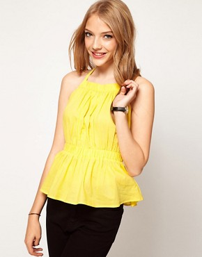 Image 1 ofASOS Pinafore Backless Top