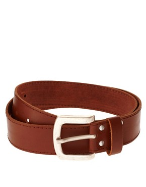 Image 1 ofASOS Leather Jeans Belt