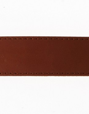 Image 4 ofASOS Leather Jeans Belt