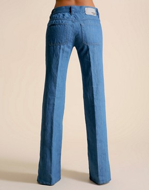 Image 2 ofDiesel Fluzi 70s Wash Patch Pocket Flare Jean