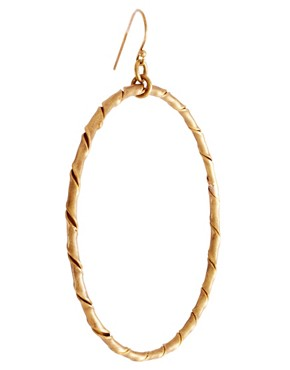 Image 3 ofMade Kaguru Hoop Earring