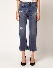 MiH Jeans &#39;Jane Jeans&#39; with Distressing