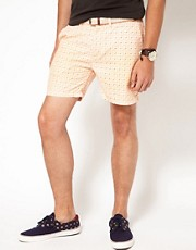 Scotch &amp; Soda Pattern Shorts