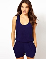 ASOS Towelling Beach Playsuit