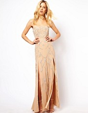Needle &amp; Thread Ornate Maxi Prom Dress