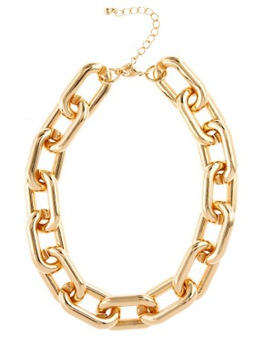 Image 2 ofASOS Open Link Chain Collar Necklace