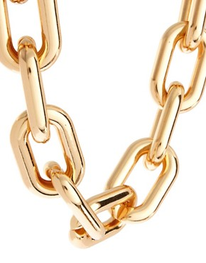 Image 4 ofASOS Open Link Chain Collar Necklace