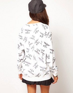 Image 2 ofBOY London Print Sweatshirt