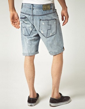 Image 2 ofReligion Denim Shorts