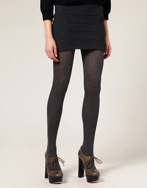 Image 1 ofWolford Winter Soft Ribbed Tights