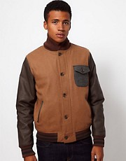 Bellfield Wool Bomber Jacket