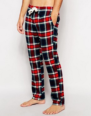Abercrombie & Fitch Check Flannel Pants