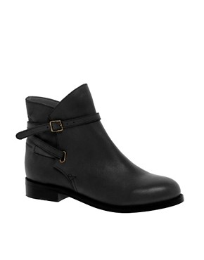 Image 1 ofASOS ALTITUDE Leather Jodhpur Ankle Boots