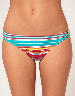 Image 1 ofEsprit Multi Stripe Bikini Briefs