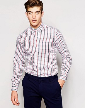 Red Eleven Check Shirt