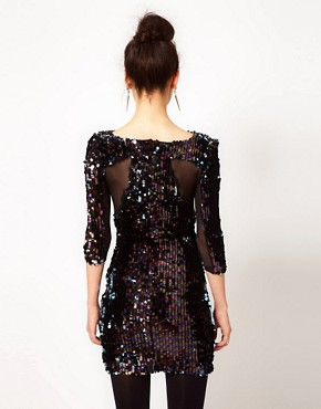 Image 2 ofPrey of London Sequin Embellished Dress