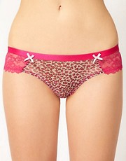 b.tempt&#39;d Express Yourself Leopard With Lace Short