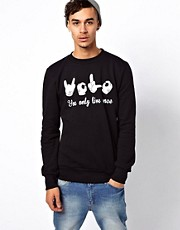 BePriv Sweat You Only Live Once Exclusive To ASOS UK