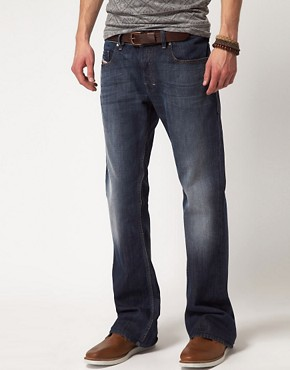 Image 1 ofDiesel Zathan 801Z Regular Bootcut Jeans