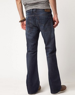 Image 2 ofDiesel Zathan 801Z Regular Bootcut Jeans