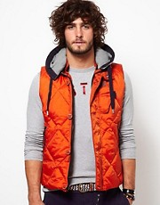 G Star Gilet Quilted Nylon