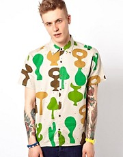 Lazy Oaf Camo Shapes Shirt