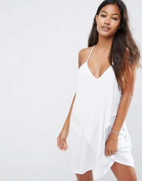 ASOS Layered Drape Jersey Beach Dress