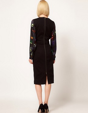 Image 2 ofPreen Line Sequin Print Henrietta Dress