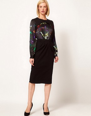 Image 4 ofPreen Line Sequin Print Henrietta Dress