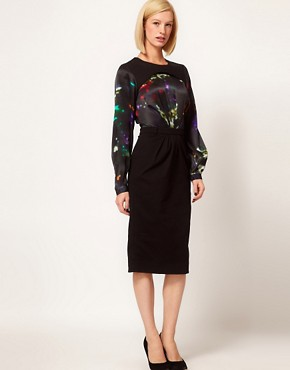Image 1 ofPreen Line Sequin Print Henrietta Dress