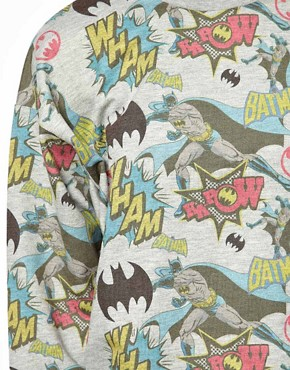 Image 3 ofASOS Sweatshirt with Batman Print