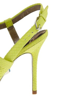 Image 2 ofSam Edelman Abbott Lime Strappy Sandals