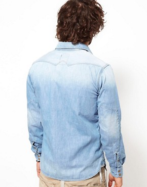 Image 2 of G-Star Shirt Nail Denim Light Aged