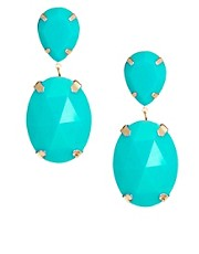 ASOS Gem Drop Earrings