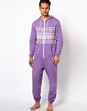 River Island Aztec Print Onesie