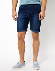 ASOS Cord Shorts In Skinny Fit