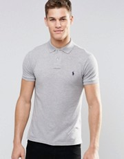 Polo Ralph Lauren Plain Logo Slim Fit Polo